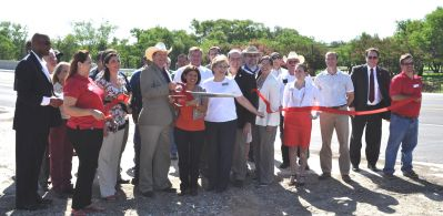 Dacy Lane Officially Opened with Ribbon-Cutting Ceremony