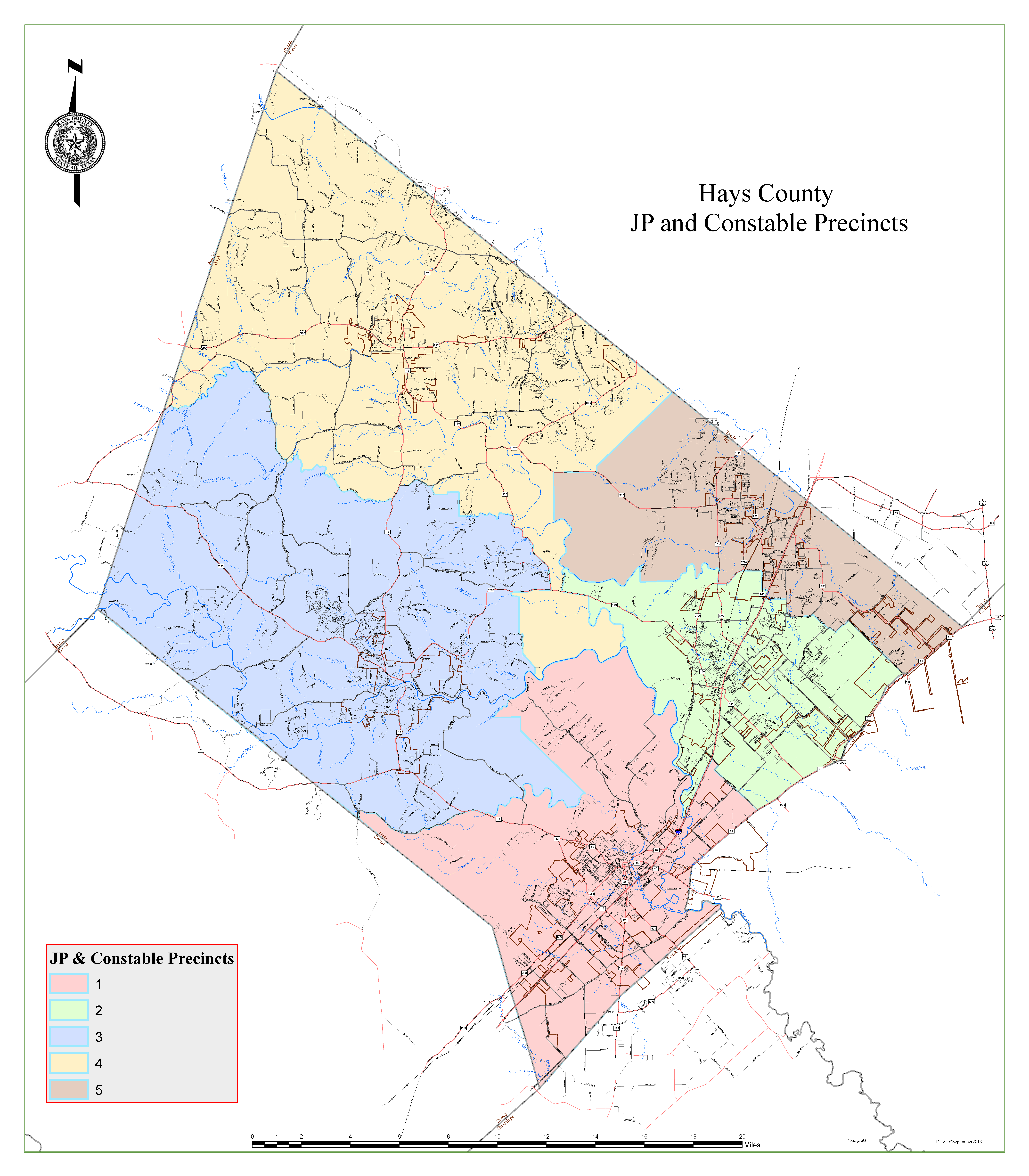JP and Constable Precincts