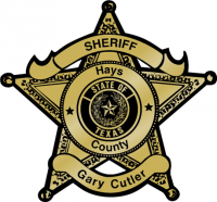 Hays County Gary Cutler Sheriff Badge
