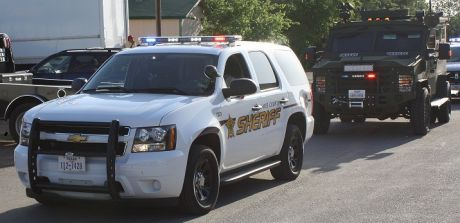 Hays County Sheriff Tahoe