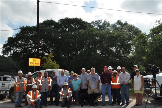 Hays County Transportation Department Employees and residents