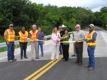 County Road 295 Bridge Ribbon Cutting 07/23/08