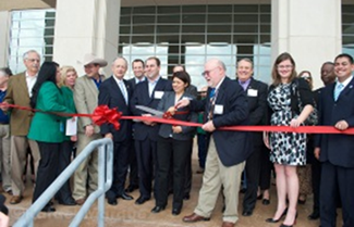 Hays County Government Center Ribbon Cutting 02/02/12